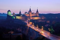 Fort in Kamyanets-Podilsky Royalty Free Stock Photo