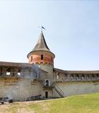 Fort in Kamyanets-Podilsky Royalty Free Stock Photos