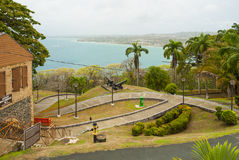 Fort King George and Scarborough in Tobago Royalty Free Stock Photo