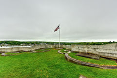 Fort Knox - Maine. Fort Knox on the Penobscot River, Maine, USA. Built between 1844 and 1869, it was the first fort in Maine built of granite Stock Photo