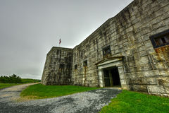 Fort Knox - Maine. Fort Knox on the Penobscot River, Maine, USA. Built between 1844 and 1869, it was the first fort in Maine built of granite Stock Photography