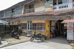 The All Spice Market, a womens co- operative. In Fort Cochin, Kerela, India.. Fort Kochi, India - 16th November 2017: The All Spice Market, a womens co stock photos