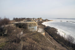 Fort Konstantin. In the Kronstadt Royalty Free Stock Photos