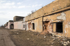 Fort Konstantin. In the Kronstadt Stock Images