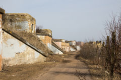 Fort Konstantin. Ruins of Fort Konstantin, Kronstadt, Russia Royalty Free Stock Photography