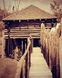 Fort Koshkonong in Fort Atkinson, Wisconsin Royalty-vrije Stock Afbeelding