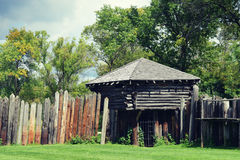Fort Koshkonong in Fort Atkinson, Wisconsin Stock Photography