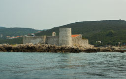 Fort in the Kotorsky gulf Royalty Free Stock Photography