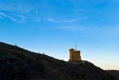 fort księżyc Obrazy Royalty Free