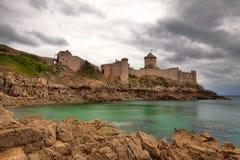 Fort-La Latte Stockfotos