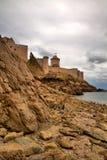 Fort-La Latte Stockfoto