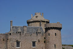 Fort la latte,bretagna. A view of the fort la latte in bretagna royalty free stock photography