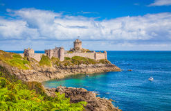 Fort-La-Latte castle, Bretagne, France Stock Images