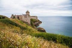 Fort la Latte castle Royalty Free Stock Photos