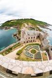 Fort la Latte castle Royalty Free Stock Photography