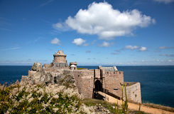 Fort La Latte near Cap Frehel Royalty Free Stock Images