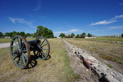 Fort Laramie National Historic Site, Wyoming Royalty Free Stock Photo