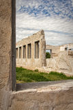 Fort Laramie. Some ruins in Fort Laramie, Wyoming Royalty Free Stock Images