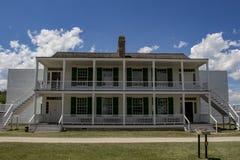 Fort Laramie, Wyoming. Fort Laramie National Historic Site in Wyoming stock photo
