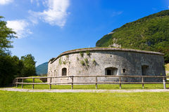 Fort Larino - First World War Royalty Free Stock Image
