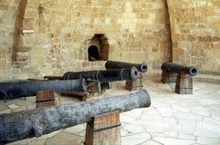 Fort Larnaca, Cypern royaltyfria foton