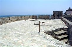 Fort Larnaca, Cypern royaltyfri foto
