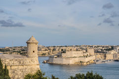 Fort Lascaris Bastion in Valletta, Malta Stock Photography