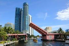 Fort Lauderdale地平线 库存照片