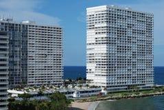Fort Lauderdale摩天大楼 免版税库存照片