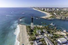 Fort Lauderdale aéreo, la Florida Imagen de archivo libre de regalías