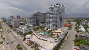 Fort Lauderdale aerial drone gopro Stock Images