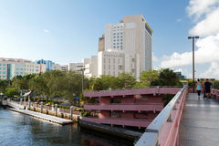 Fort Lauderdale amichevole della famiglia, Florida Fotografia Stock