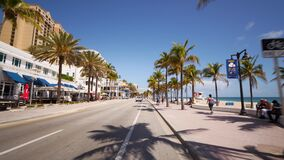 Fort Lauderdale Beach closed for Spring Break 2020 to slow spread of Coronavirus Covid 19