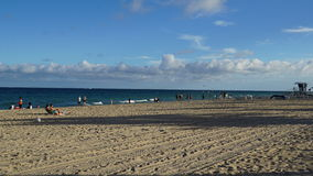 Fort Lauderdale Beach in Florida Royalty Free Stock Image
