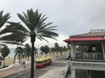 Fort Lauderdale Beach in Florida. Royalty Free Stock Images