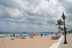 Fort Lauderdale Beach Stock Photography