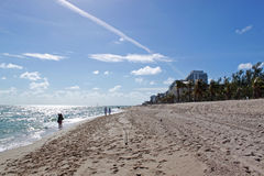 Fort Lauderdale beach, Florida Royalty Free Stock Photo