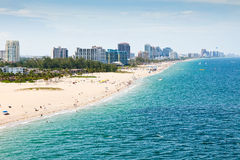 Fort Lauderdale Beach, Ft. Lauderdale, Florida Stock Photos