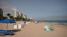 Fort Lauderdale Beach stock video