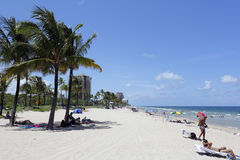 Fort Lauderdale Beach People Stock Photography