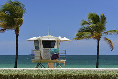 Fort Lauderdale Beach Royalty Free Stock Photo
