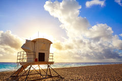 Fort Lauderdale beach sunrise Florida US Stock Photography