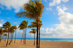 Fort Lauderdale beach sunrise Florida US Royalty Free Stock Photos