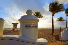 Fort Lauderdale beach sunrise Florida US Stock Images