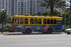 Fort Lauderdale cart Royalty Free Stock Image