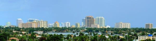 Fort Lauderdale de Panoramma, la Floride Photos stock