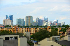 Fort Lauderdale downtown, Florida Stock Images