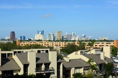 Fort Lauderdale downtown, Florida Stock Photography