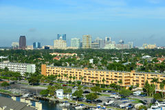 Fort Lauderdale downtown, Florida Royalty Free Stock Image