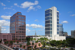 Fort Lauderdale downtown, Florida Royalty Free Stock Images